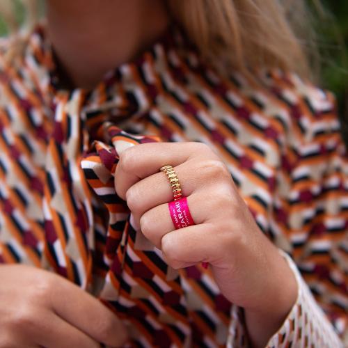 Δαχτυλίδι κίτρινο επιχρυσωμένο ασήμι 925.